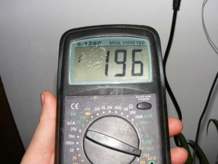 Medidor de voltaje