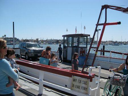 planificar viaje en ferry con niños