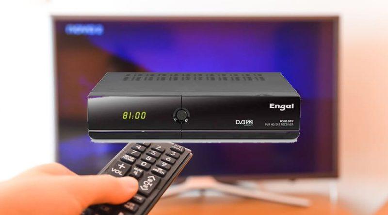 Engel RS8100Y receptor satélite HD