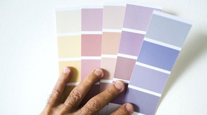 cinco colores de pintura para el hogar